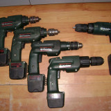 Filetante / Surubelnite acumulator METABO