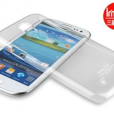 Carcasa transparenta IMAK pentru Samsung Galaxy S4 SIV i9500 i9505 ultra subtire Crystal Clear - Husa Telefon