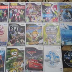 Vand Jocuri WII Activision nintendo, pachet 15 bucati, toate varstele, sport, desene, shooter, Actiune, Single player