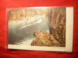Ilustrata veche Doro Gorge ( langa Osaka) Japonia