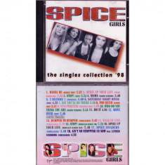 CD MUZICA -  SPICE GIRLS - THE SINGLES COLLECTION 98