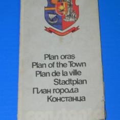 CONSTANTA PLANUL ORASULUI ONT 1979. harta