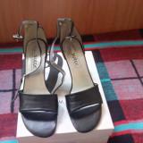 Sandale Sutor dama - Sandale dama, Culoare: Negru, Marime: 41