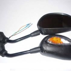 Oglinzi cu semnalizare metalice - Oglinzi Moto