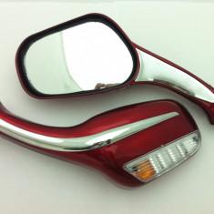 Oglinzi cu semnalizare rosii - Oglinzi Moto