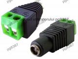 Adaptor borne-jack mama DC 2,5 mm - 126946