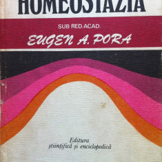 HOMEOSTAZIA - Eugen A. Pora - Carte Biologie