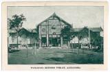 98 - Teleorman, ALEXANDRIA, public garden - old postcard - unused, Necirculata, Printata