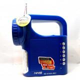 Radio Portabil Mp3 Player cu microfon si Lanterna si Proiector - Aparat radio Alta