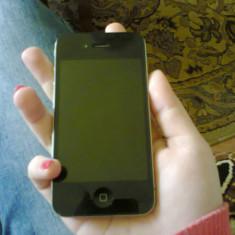 Iphone - iPhone 4 Apple, Negru, 16GB, Neblocat