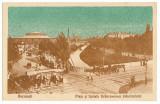 1745 - BUCURESTI, Market & Hospital Brancovenesc - old postcard - used - 1917