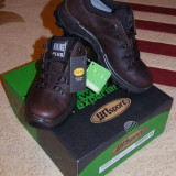 Pantofi trekking GriSport - Pantofi barbat Grisport, Marime: 41, Piele naturala, Maro