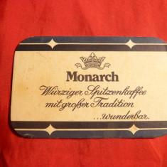 Reclama f.veche la Cafea Monarch