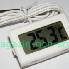 Termometru Digital Cu Senzor Pe Fir
