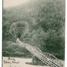 210 - Arad, VARFURILE, tunnel and bridge - old postcard - used - 1914 - Carte Postala Banat 1904-1918, Circulata, Printata