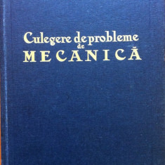 CULEGERE DE PROBLEME DE MECANICA - Stefan Balan - Carti Mecanica