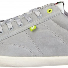45_Adidasi originali Lotto_adidasi sport_tenisi barbati_piele_cutie, Culoare: Gri, Piele sintetica