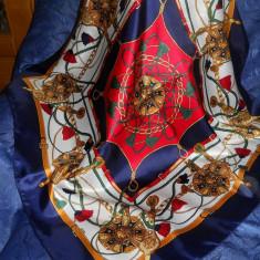 Splendid batic de matase, 85x85 cm - Batic Dama