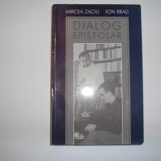 Dialog epistolar - Mircea Zaciu, Ion Brad,rf2/3,RF9/1