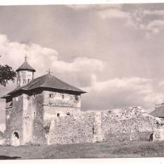 #carte postala(ilustrata)-CONSTANTA -Gara - Carte Postala Dobrogea dupa 1918, Circulata, Fotografie