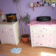 Mobilă cameră fete - Set mobila copii