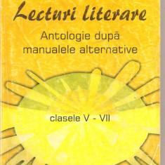 (C4840) LECTURI LITERARE, CLASELE V - VII, EDITURA CARMINS. 2000 - Culegere Romana