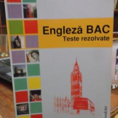 BAC engleza -teste rezolvate - Teste Bacalaureat booklet
