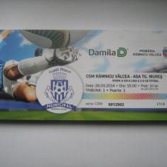 CSM Rm.Valcea - ASA Tg.Mures (23 martie 2014) - Program meci
