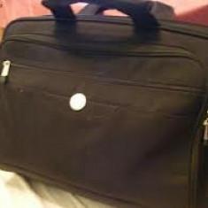 Vand geanta laptop Dell, 17 inch, Neopren, Negru