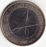 Moneda - Republica Slovenia - 3 Euro 2008 - Președinția Uniunii Europene - Rara