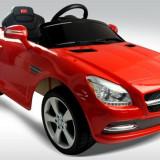 Mercedes Benz SLK Masinuta electrica - Masinuta electrica copii, 2-4 ani, Unisex, Rosu