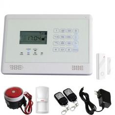 Sistem Alarma Casa Profesional GSM Wireless cu Touch Keypad 850/900/1800/1900Mhz model 811C/2014