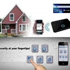 Alarma Casa GSM Profesionala cu acces APP pe IOS/ANDROID model 816A6