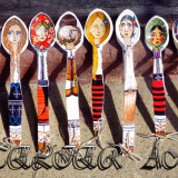 Linguri decorative pictate manual