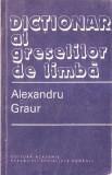Alexandru Graur-Dictionar al greselilor de limba