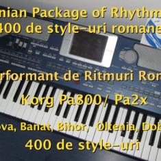 Ritmuri Korg Pa800/Pa2x - Set Ritmuri Complet și Performant - Orga