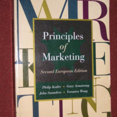 PRINCIPIILE MARKETINGULUI - PRINCIPLES OF MARKETING - PHILIP KOTLER, GARY ARMSTRONG, JOHN SAUNDERS, VERONICA WONG - Carte Marketing
