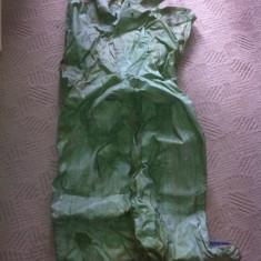 Echipament de protectie pantalon fabrica combinat anii 80 rar comunist hobby - Echipament lucru