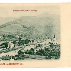 1420 - L i t h o, Maramures, SIGHET, Panorama - old postcard - unused - Carte Postala Maramures pana la 1904, Necirculata, Printata