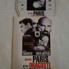 Din Paris cu dragoste - film DVD - John Travolta - Film actiune Altele, Romana