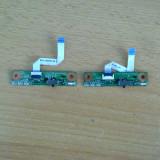 placuta cu leduri si buton wireless HP DV 9000