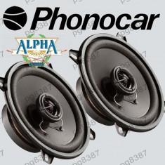 Difuzor auto 13cm, 60W, PHONOCAR ALPHA 66/023, cu doua cai - 000904