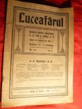 Revista Luceafarul  -Literatura ,Arta ,Stiinta -1913 Sibiu ,32 pag. format mare