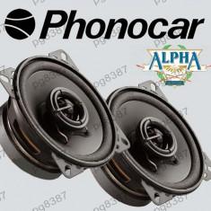 Difuzor auto 100mm, 60W, PHONOCAR ALPHA 66020, cu doua cai - 000902