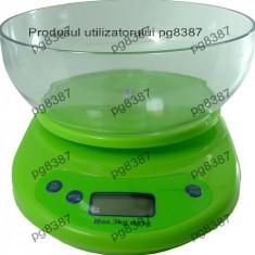 Cantar electronic de bucatarie, domeniu: 0-3 Kg-113531 - Cantar de Bucatarie