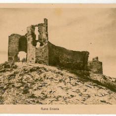 84 - Dobrogea, Cetatea ENISALA - old postcard - unused - Carte Postala Dobrogea 1904-1918, Necirculata, Printata