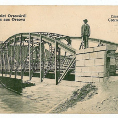 64 - Mehedinti, ORSOVA, bridge - old postcard - used - 1910 - Carte Postala Oltenia 1904-1918, Circulata, Printata