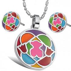 Set bijuterii inox