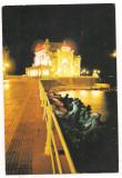 #carte postala(ilustrata)-CONSTANTA-Restaurantul Cazino, Circulata, Printata