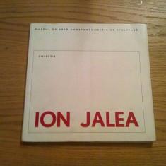 ION JALEA  * Colectia  -- Muzeul de Arte Constanta * Sectia de Sculptura   --  Catalog 1971,